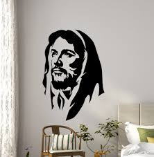 online shop christ wall decal vinyl art mural church wall