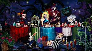 animated halloween desktop backgrounds alice in wonderland desktop wallpaper