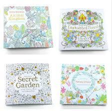 secret garden coloring book chile coloring books 4 designs secret garden animal kingdom