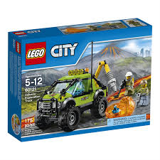 lego ferrari truck lego city volcano exploration truck 60121 toys