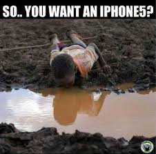 African Kid Meme Clean Water - poignant dirty water africa dirty drinking water vs iphone