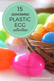 plastic egg activities and easter science ideas for kids