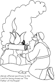 abraham sarah and isaac coloring pages