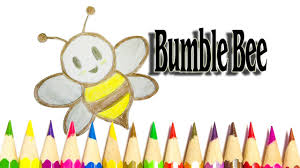 how to draw a bumble bee easy bumble bee drawing picture sld