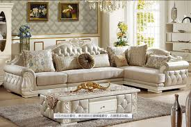 Sofa Leather And Fabric Combined by Aliexpress Com Buy U Best European Style Sofa New Classic