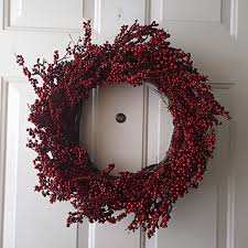 berry wreath diy berry wreath twofeetfirst