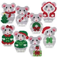 ornaments plastic canvas seasonal herrschners