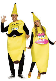 Banana Halloween Costume Ms Banana Pink Yellow Female Ladies Fancy Dress Escapade Uk