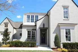 sherwin williams body of the home is amazing gray sw 7044 in