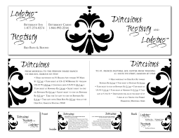 Registry Cards For Wedding Invitations Custom Invitations U0026 Note Cards By Bonni Van De Wouw At Coroflot Com