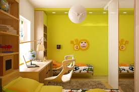 bedroom green wall floral yellow kids bedroom combined white