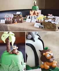 wild jungle safari themed baby shower hostess with the mostess