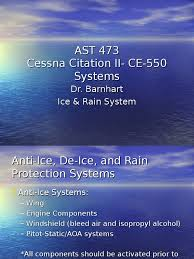 cessna citation ii ice u0026 rain system vehicle parts aerospace