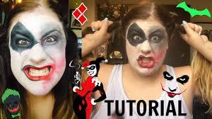 Joker And Harley Quinn Halloween Costumes by The Joker U0026 Harley Quinn Mash Up Tutorial Youtube