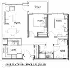 handicapped accessible residential floor plans floor plans