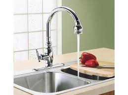 Kohler Brushed Nickel Kitchen Faucet Sink U0026 Faucet Awesome Kohler Faucets Kitchen Kohler Vinnata