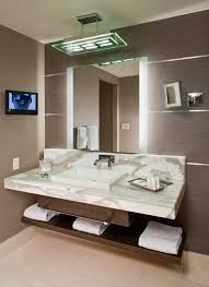 bathroom cabinet fresh lit bathroom mirrors cool home design