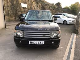 land rover vogue 2005 2005 land rover range rover td6 vogue 6 995