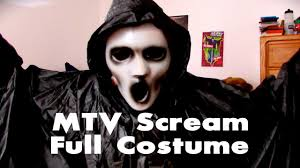 scream halloween costumes kids mtv scream full costume youtube