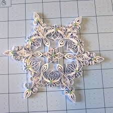 550 best quilled snowflakes images on quilling