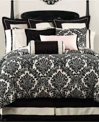 Black And White Toile Duvet Cover Black And White Damask Duvet Cover Foter