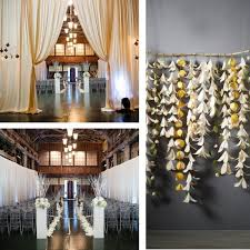 indoor wedding decorations pictures indoor wedding ceremony aisle