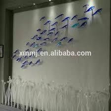 wholesale made decorative blown murano glass fish