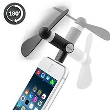 portable fan for iphone amazon com belker iphone fan rotatable portable dock cool cooler