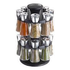 Revolving Spice Rack 20 Jars Hudson 16 Jar Herb U0026 Spice Rack Cole U0026 Mason Usa U2013 Carousel