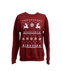 deer sweater reindeer sweatshirt unisex
