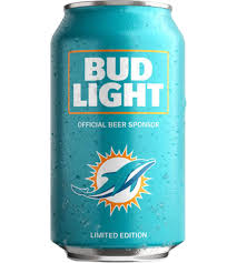 order nfl bud light cans bud light miami dolphins nfl team can order online minibar delivery