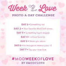 Challenge Instagram Announcing Our Modweekoflove Instagram Challenge