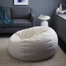 Bean Bag Ottoman Special Order Bean Bag 6 8 Week Delivery West Elm