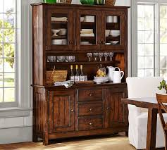 dining room buffets and hutches benchwright buffet hutch pottery barn dining room buffets and