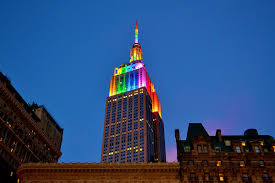 empire state building lights tonight one wtc empire state building will be lit up to celebrate nyc pride