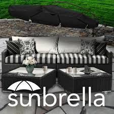 Outdoor Furniture Upholstery Fabric by Black And White Sunbrella Indoor Outdoor Diy Fabric Design