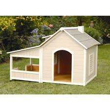 Big Backyard Savannah Playhouse by Outback Savannah Luxury Dog Home With Porch Free Shipping Today