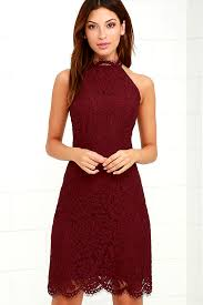 bb dakota bb dakota cara dress burgundy dress lace dress 91 00