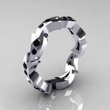 mens eternity rings custom 925 sterling silver mens black diamond eternity ring y245