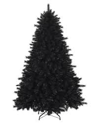pitch black artificial christmas pine trees treetopia