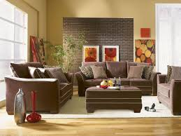 Living Room Furniture Couches Exquisite Decorating Ideas Using Rectangular Brown Polyester