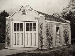 Garage Style Homes A Matching Sears