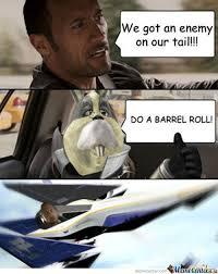 Barrel Roll Meme - do a barrel roll by s0ulst33lr meme center