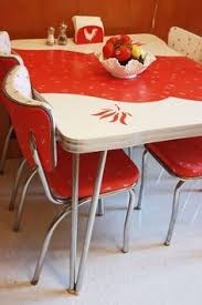 vintage 1950s kitchen table and chairs arminbachmann com