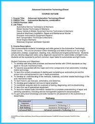 Auto Mechanic Job Description Resume by Diesel Mechanic Resume Resume For Your Job Application