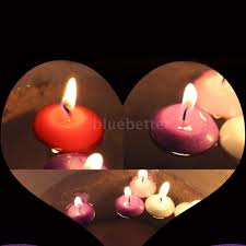 candle light decoration at home 20x water floating candles wedding birthday party home decoration