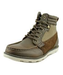 men u0027s winter shoes crevo crevo bishop men moc toe leather boot