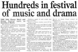 thanet and drama festival 2004 festival