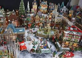 shining costco christmas village unusual 32 piece lighted from