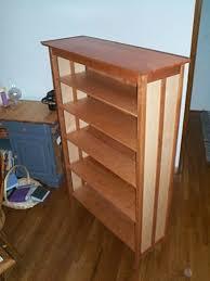 cherry and maple bookcase by mpm3 lumberjocks com